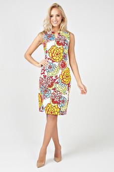 Летнее платье из хлопка Angela Ricci со скидкой